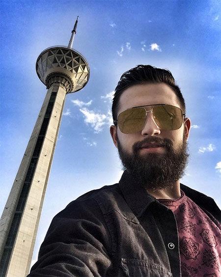 تتلو محسن افشانی را با خاک یکسان کرد + عکس