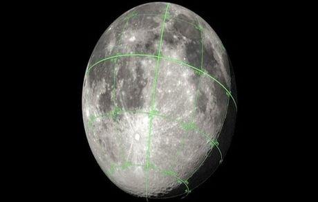 انتشار نقشه 3 بعدی ماه