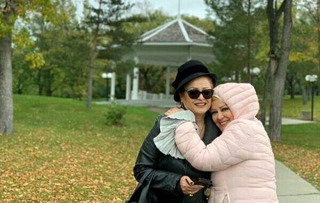 بهاره رهنما و خواهر بزرگش در کانادا + عکس