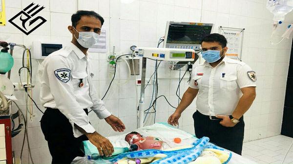 نوزاد مرده در عسلویه زنده شد / همه در شوک + عکس