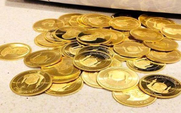 قیمت سکه ریزش کرد