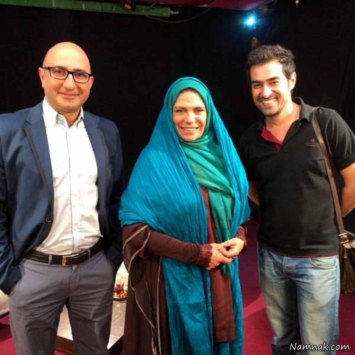 عکس لورفته از گوهر خیراندیش بغل شهاب حسینی در امریکا + تصاویر دیده ...