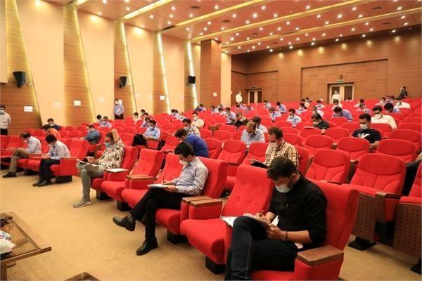 برگزاری آزمون تعدیل مدرک تحصیلی کارکنان