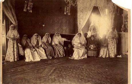 جشن تولد در حرمسرای کاخ گلستان+ عکس