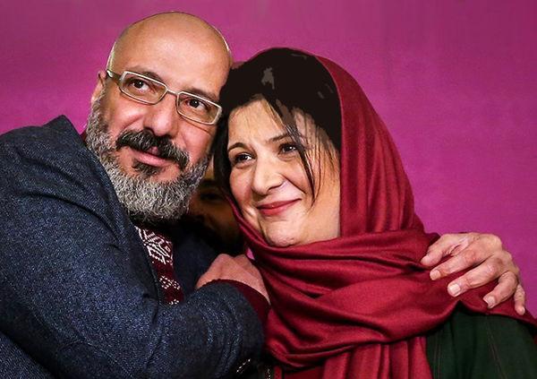 عکسهای جنجالی امیر جعفری و مهراوه شریفی نیا روی سن تئاتر +عکس