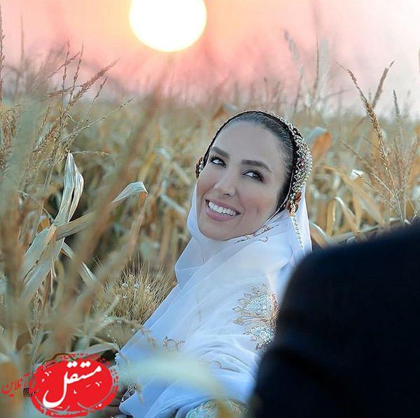 خنده های تازه عروس معروف + عکس
