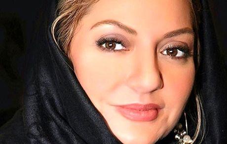 مهناز افشار   بوسه جنجالی بر گونه بازیگر تئاتر+ عکس