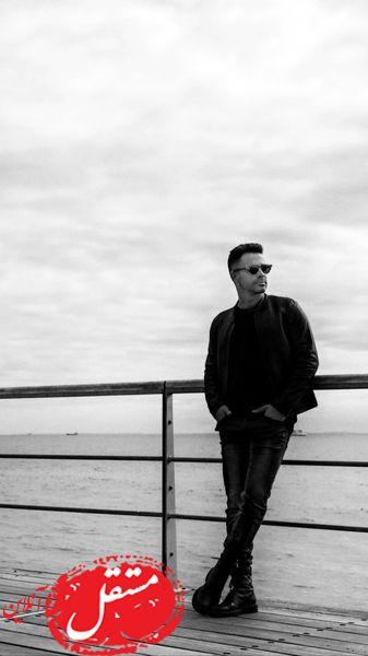 سیروان خسروی در اسکله ای زیبا + عکس