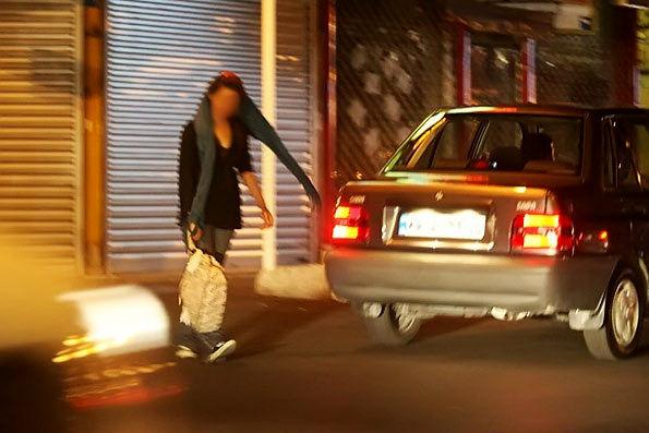 آمار  تکان دهنده  زنان خیابانی در مناطق مختلف تهران+ عکس