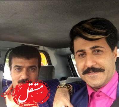 رحمت سریال پایتخت در کنار همسر و پسرش جانان + تصاویر