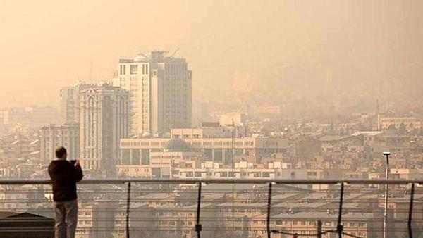 علت آلودگی هوای پایتخت فاش شد + جزئیات