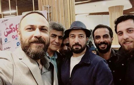 بازیگران معروف در اکران شاه کش + عکس