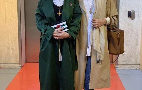 متین ستوده و سمیرا حسن پور در کنار هم + عکس