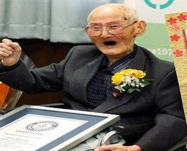 راز مهم سرزندگی پیرترین مرد جهان+ عکس