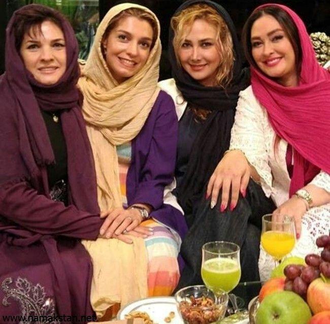 الیکا عبدالرزاقی و آناهیتا نعمتی و الهام حمیدی