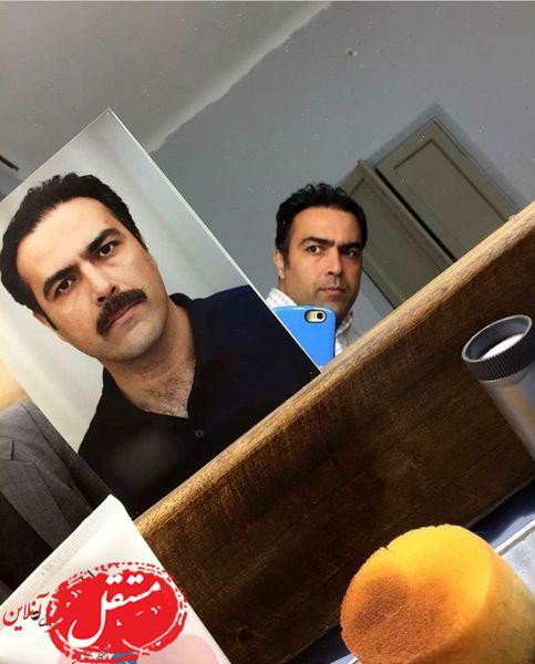 بازیگر وارش بدون گریمش + عکس