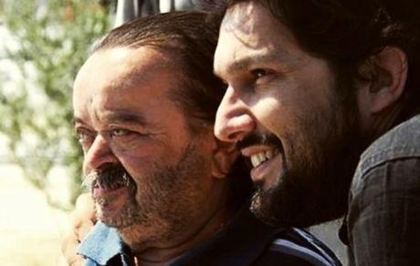 حامد بهداد در کنار بازیگر پیشکسوت سینما + عکس