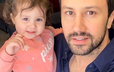رقص کردی دختر 2 ساله شاهرخ استخری طوفان به پا کرد + فیلم