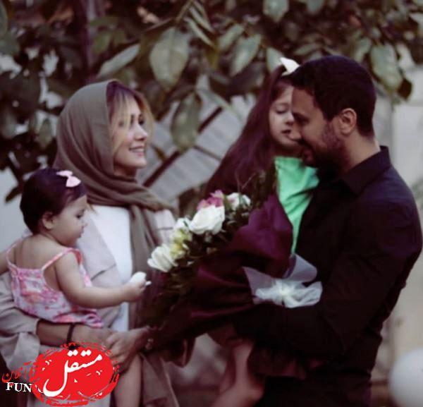 عاشقانه های دیده نشده شاهرخ استخری و همسرش + تصاویر و فیلم