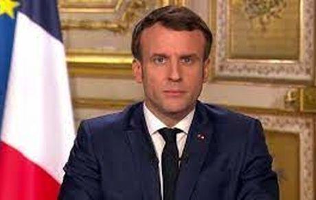 سیلی خوردن رئیس جمهور فرانسه از مرد ناشناس + فیلم