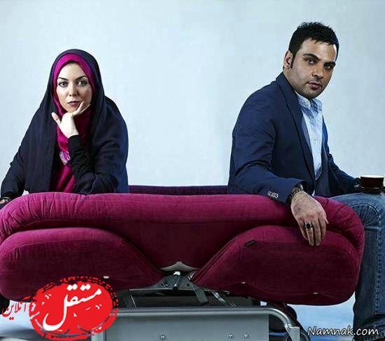 سیرتا پیاز ماجرای ازدواج آزاده نامداری و احسان علیخانی + تصاویر