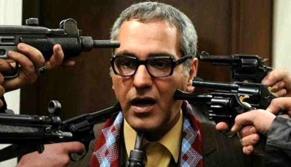 مهران مدیری در پشت صحنه سریال مرد هزار چهره
