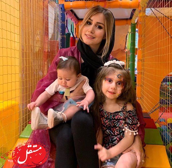 همسر و فرزندان شاهرخ استخری + عکس