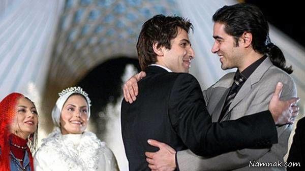 حمید گودرزی و شهاب حسینی و الناز شاکردوست در فیلم قتل آنلاین