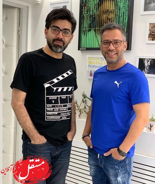 فرزاد حسنی در گالری عکاسی دوستش + عکس