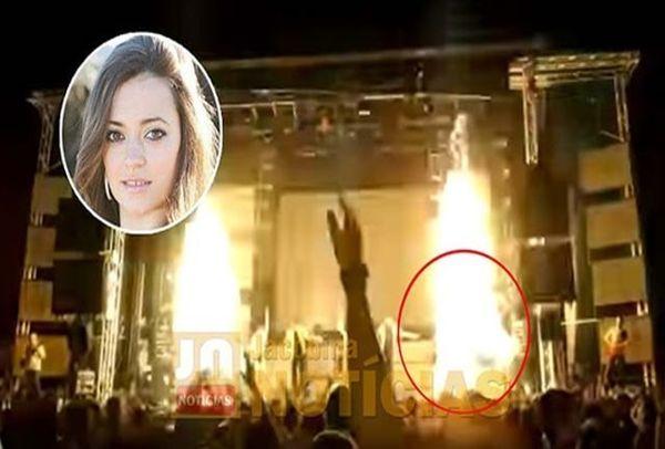 خواننده زن جوان در کنسرتش زنده زنده سوخت + جزئیات