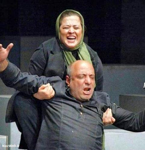 بغل کردن امیر جعفری توسط مهراوه شریفی نیا جنجال آفرین شد (تصاویر)