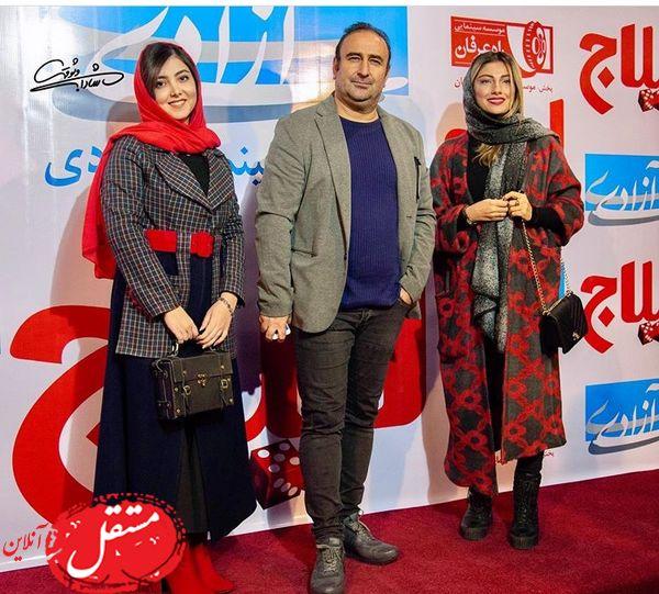 بازیگر پایتخت در اکران لیلاج + عکس