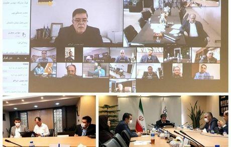 بررسی راهکارها و تحقق شعار جهش تولید در جلسه با مدیران شرکت های بزرگ معدن و صنایع معدنی