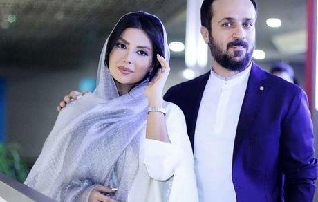 عکس دیده نشده از مراسم عروسی احمد مهرانفر و همسرش + تصاویر