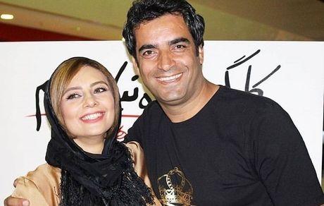 یکتا ناصر در آغوش همسر مشهورش + عکس