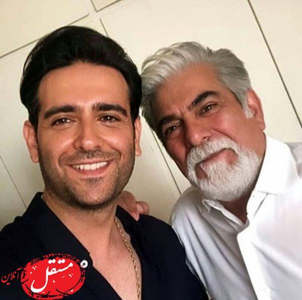 پدر و پسر مانکن + عکس