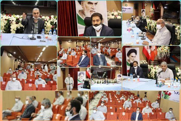 جلسه تولید مجتمع مس سرچشمه با حضور مدیرعامل شرکت مس برگزار شد