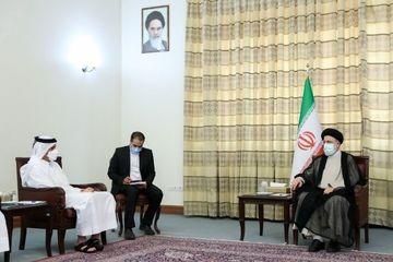 وزیر خارجه قطر در تهران