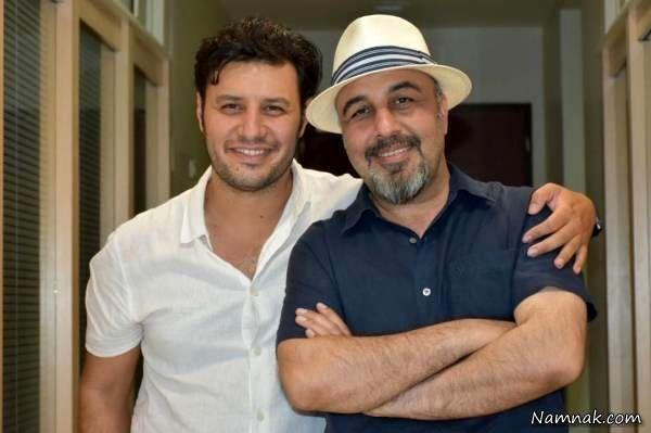 جواد عزتی و رضا عطاران
